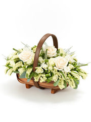 Mixed Basket - White