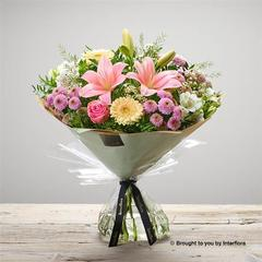 Mothers Day Pastels Hand-tied